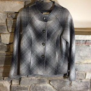 Pendleton Jackets & Coats - Women's Pendleton Grey Wool Blazer SZ 12